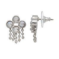 Simply Vera Vera Wang Ball Chain Fringe Drop Earrings