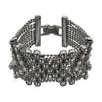 Simply Vera Vera Wang Chevron Mesh Bracelet