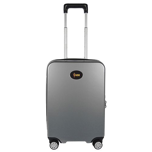Arizona State Sun Devils 22-Inch Hardside Wheeled Carry-On with Charging Port