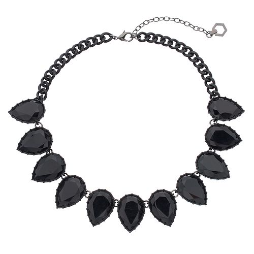 Simply Vera Vera Wang Inverted Teardrop Statement Necklace