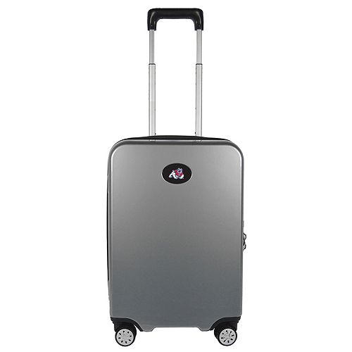 Fresno State Bulldogs 22-Inch Hardside Wheeled Carry-On with Charging Port