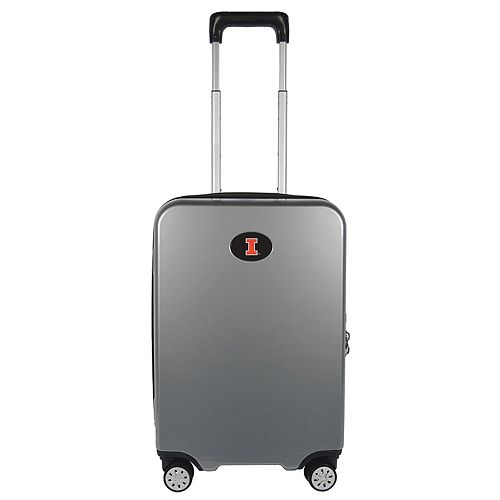 Illinois Fighting Illini 22-Inch Hardside Wheeled Carry-On with Charging Port