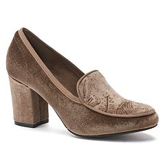 New York Transit New Way Women's High Heel Loafers
