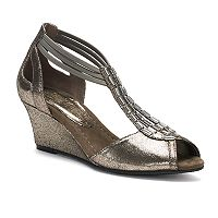 New York Transit Sounds Good Women's Wedge Sandals