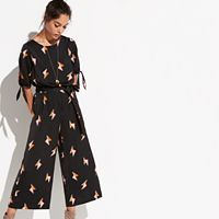 k/lab Lightning Bolt Culotte Jumpsuit