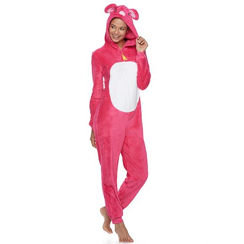 Juniors' SO® Mouse Costume One-Piece Pajamas