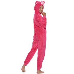 Juniors' SO® Mouse Costume One-Piece Pajamas