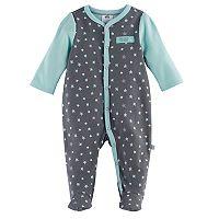Baby Boy Just Born Stars Sleep & Play