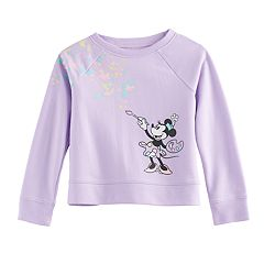 Disney's Minnie Mouse Toddler Girl Splatter Paint Raglan Pullover Sweater by Jumping Beans®