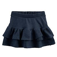 Toddler Girl Jumping Beans® Faux Denim Tiered Tulip Skort