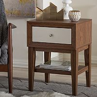 Baxton Studio Gaston Mid-Century Modern End Table