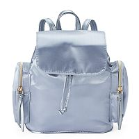 T-Shirt & Jeans Satin Mini Backpack