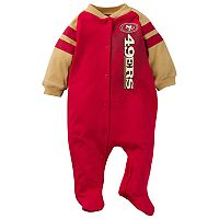 Baby San Francisco 49ers Footed Bodysuit