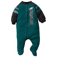 Baby Philadelphia Eagles Footed Bodysuit