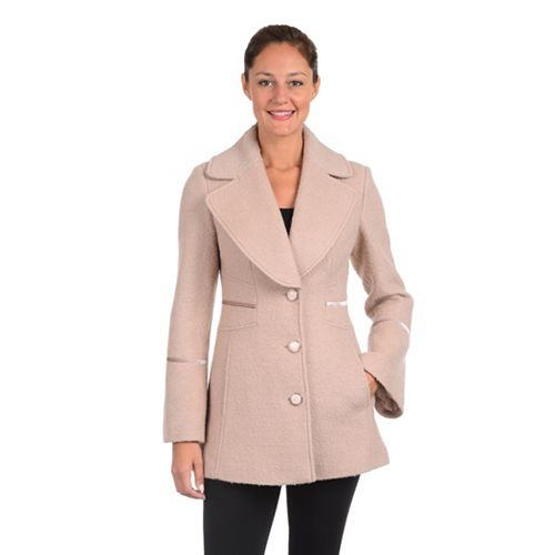 Women's Fleet Street Boucle Wool-Blend Coat