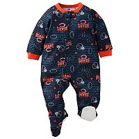 Baby Chicago Bears Footed Pajamas