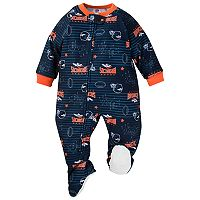 Baby Denver Broncos Footed Pajamas