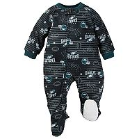 Baby Philadelphia Eagles Footed Pajamas
