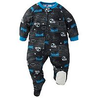 Baby Carolina Panthers Footed Pajamas