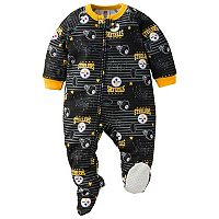 Baby Pittsburgh Steelers Footed Pajamas