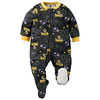 Baby Minnesota Vikings Footed Pajamas