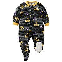 Baby Minnesota Vikings Footed Pajamas