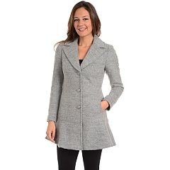 Women's Fleet Street Flounce Wool-Blend Coat