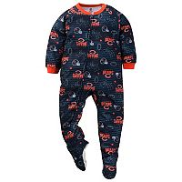 Toddler Chicago Bears Footed Pajamas