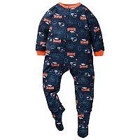 Toddler Denver Broncos Footed Pajamas
