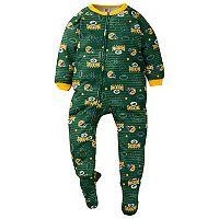 Toddler Green Bay Packers Footed Pajamas