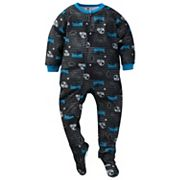 Toddler Carolina Panthers Footed Pajamas