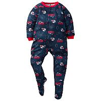 Toddler New England Patriots Footed Pajamas