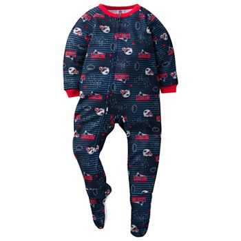 Discount Toddler New England Patriots Footed Pajamas  hot sale