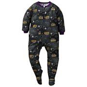 Toddler Baltimore Ravens Footed Pajamas