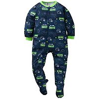 Toddler Seattle Seahawks Footed Pajamas