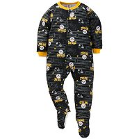 Toddler Pittsburgh Steelers Footed Pajamas