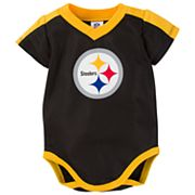 Baby Pittsburgh Steelers Jersey Bodysuit