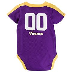 Baby Minnesota Vikings Jersey Bodysuit
