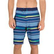 Men's Speedo Ingrain Stripe Board Shorts