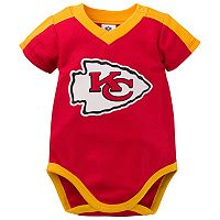 Baby Kansas City Chiefs Jersey Bodysuit