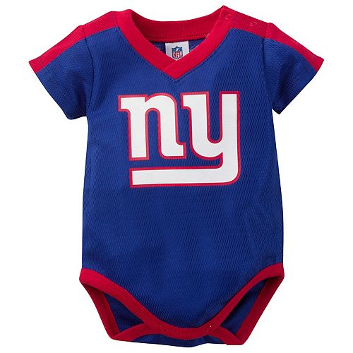 best website d18fb a2f2e Baby New York Giants Jersey Bodysuit