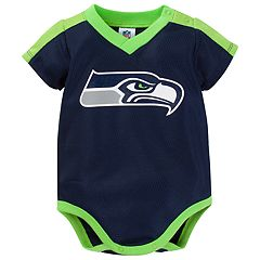 Baby Seattle Seahawks Jersey Bodysuit