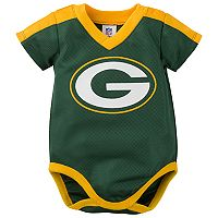 Baby Green Bay Packers Jersey Bodysuit
