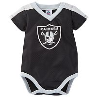 Baby Oakland Raiders Jersey Bodysuit