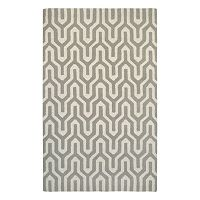 Couristan Super Indo-Natural Cambria Geometric Wool Rug