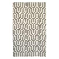 Couristan Super Indo-Natural Cambria Geometric Wool Rug