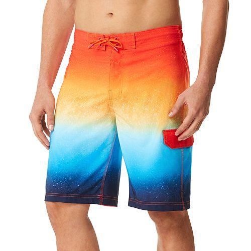 Men's Speedo Spray Blend Ombre Board Shorts