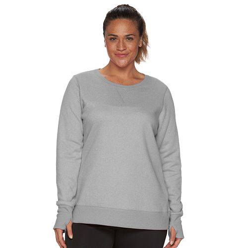 Plus Size Tek Gear® Fleece Sweatshirt
