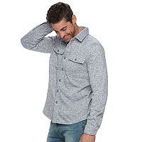 Men's SONOMA Goods for Life™ Sweater-Fleece Shirt Jacket