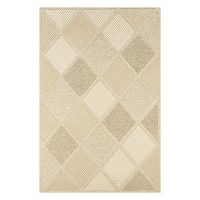 Couristan Super Indo-Natural Astra Geometric Wool Rug
